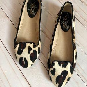 BLOGGER FAVE Leopard print flats